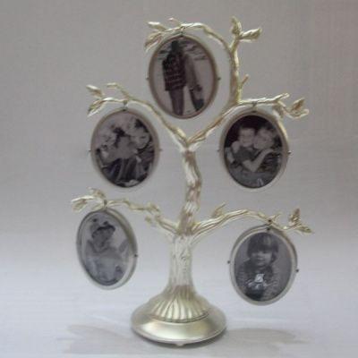 Фоторамка семейное дерево 555205RM (5 фоторамок 3х5см )