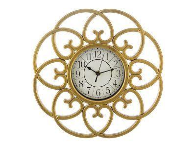 "Часы настенные кварцевые ""italian style"" 40*36*5 см.диаметр циферблата 14 см."