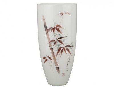 """Ваза овал """"бамбук"""" диаметр 18 см. высота 37 см."""