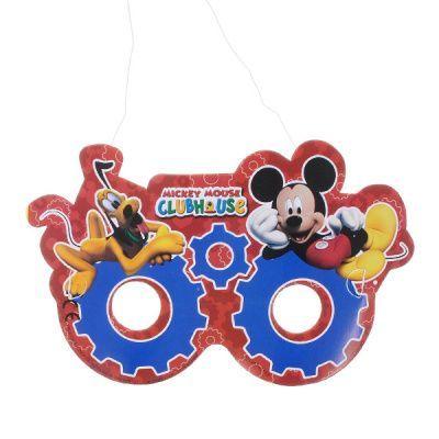 Карнавальные маски бумажные Микки Маус