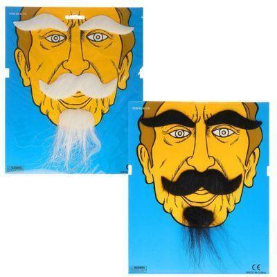 Набор Борода усы брови микс